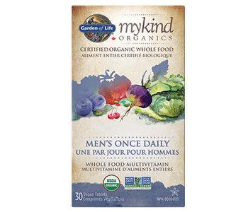 Garden of Life - MyKind Organics - Men's Once Daily - 30 V-Tabs