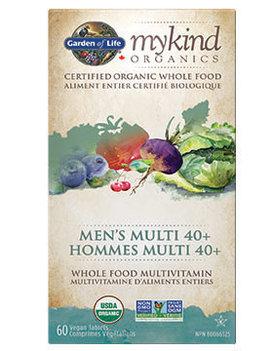Garden of Life Garden of Life - MyKind Organics - Men's Multi 40+ - 60 V-Caps