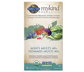 Garden of Life - MyKind Organics - Men's Multi 40+ - 60 V-Caps