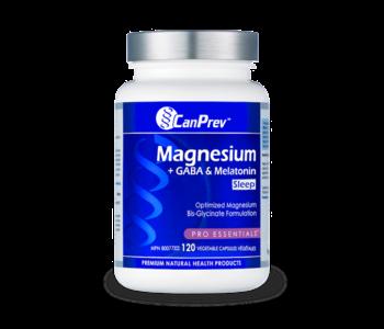 CanPrev - Magnesium +GABA & Melatonin - 120 V-Caps