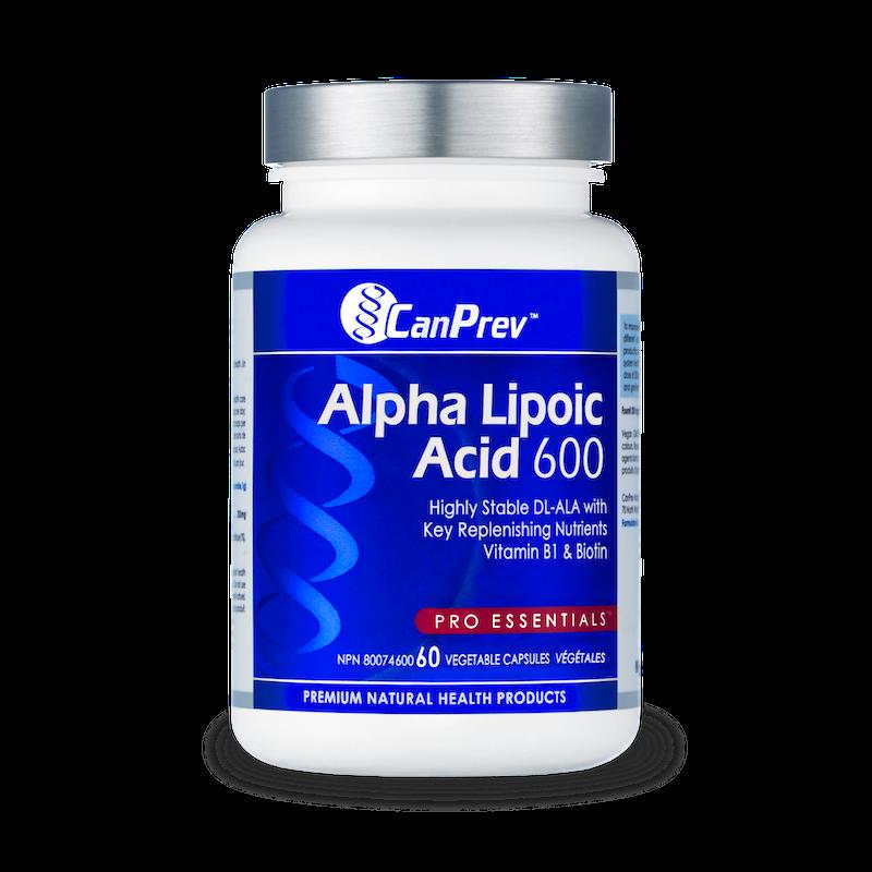 CanPrev - Canadian CanPrev - Alpha Lipoic Acid 600mg - 60 V-Caps