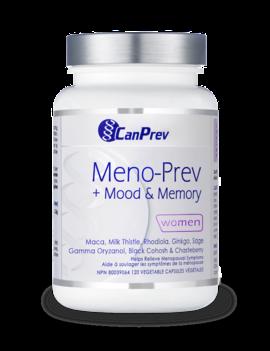 CanPrev - Canadian CanPrev - Meno-Prev + Mood & Memory - 120 V-Caps