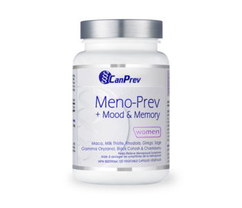 CanPrev - Meno-Prev + Mood & Memory - 120 V-Caps