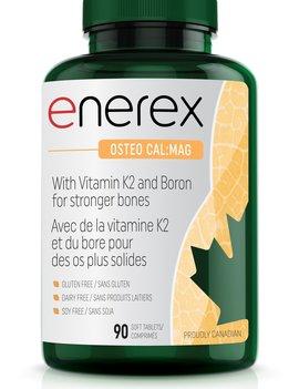 Enerex Botanicals Enerex - Osteo Cal:Mag - 90 Tabs