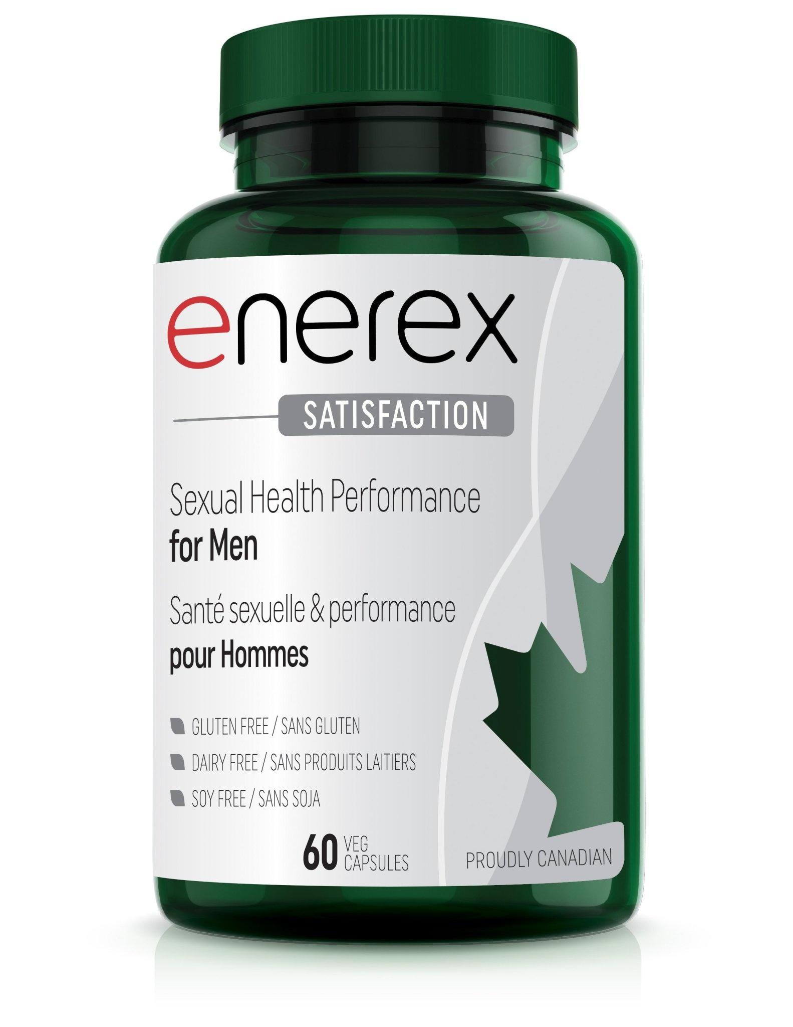 Enerex Botanicals Enerex - Satisfaction - 60 V-Caps