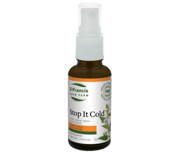 St. Francis - Stop it Cold - Throat Spray - 30ml
