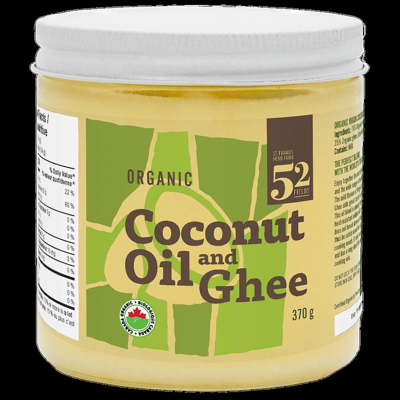 St. Francis Herb Farm Inc. St. Francis - Coconut Oil & Ghee - Organic - 370g