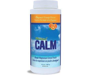 Natural Calm - Magnesium Citrate Powder - Organic Orange - 16oz
