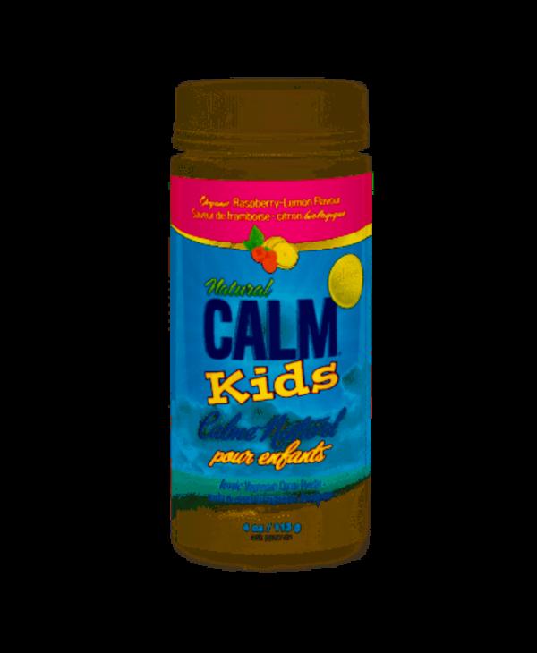 Natural Calm - Kids Calm - Raspberry Lemon - 4 oz
