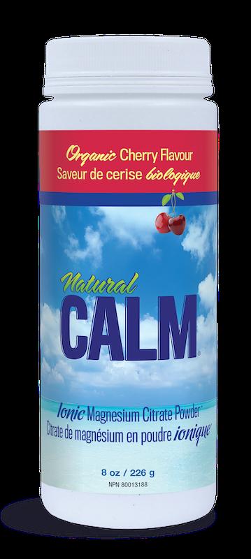 Natural Calm Natural Calm - Magnesium Citrate Powder - Organic Cherry - 8oz