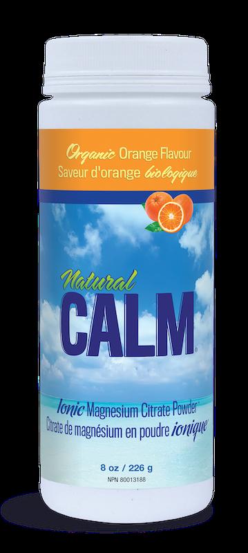 Natural Calm Natural Calm - Magnesium Citrate Powder - Organic Orange - 8oz