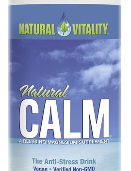 Natural Calm Natural Calm - Magnesium Citrate Powder - Original Unflavoured - 16oz
