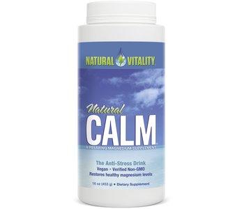 Natural Calm - Magnesium Citrate Powder - Original Unflavoured - 16oz