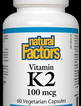 Natural Factors Natural Factors - Vitamin K2 - 60 V-Caps