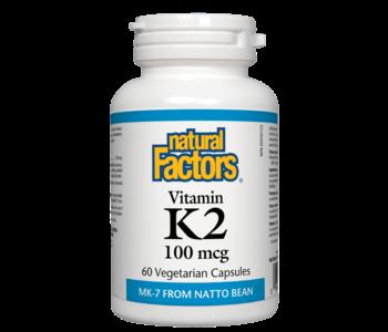 Natural Factors - Vitamin K2 - 60 V-Caps