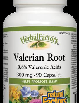 Natural Factors Natural Factors - Valerian Root 300mg - 90 Caps