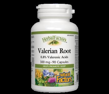 Natural Factors - Valerian Root 300mg - 90 Caps