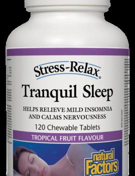 Natural Factors Natural Factors - Tranquil Sleep - 120 Chewable Tabs