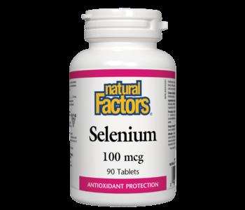 Natural Factors - Selenium 100mcg - 90 Tabs
