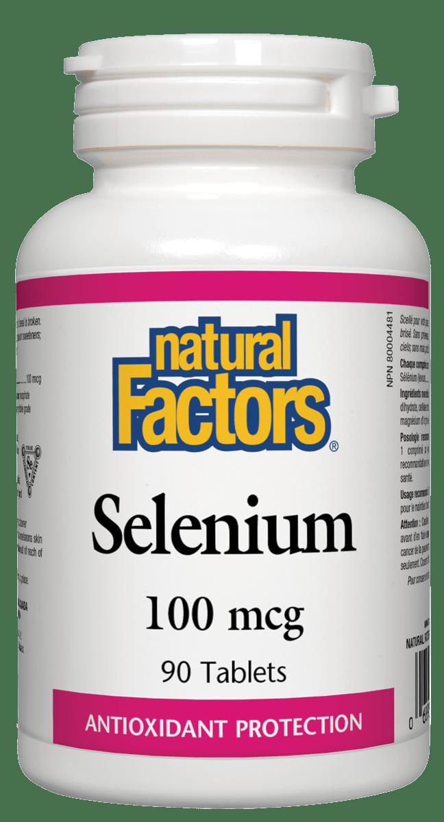 Natural Factors Natural Factors - Selenium 100mcg - 90 Tabs