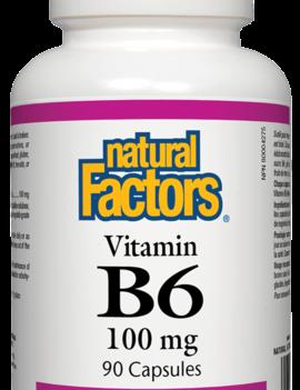 Natural Factors Natural Factors - Vitamin B6 100 mg - 90 Caps