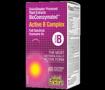 Natural Factors - BioCoenzymated Active B Complex - 60 Caps