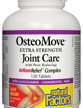 Natural Factors Natural Factors - OsteoMove Extra Strength Joint Care - 120 Tab