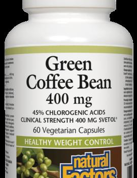 Natural Factors Natural Factors - Green Coffee Been 400 mg - 60 V-Caps