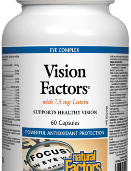 Natural Factors Natural Factors - Vision Factors - 60 Caps