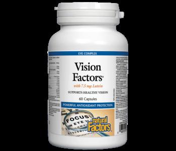 Natural Factors - Vision Factors - 60 Caps