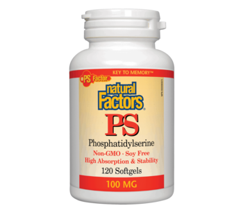 Natural Factors - PS-100 - 120 SG