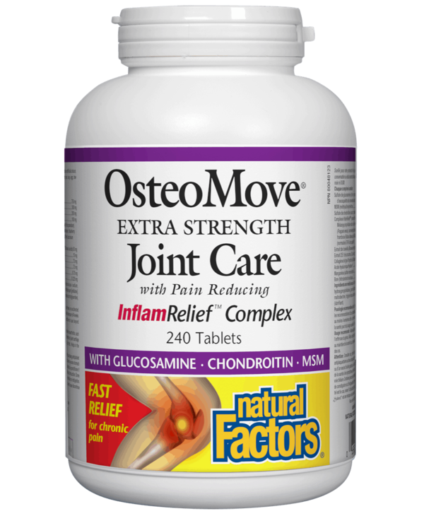 Natural Factors - OsteoMove Extra Strength Joint Care - 240 Tabs