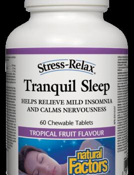 Natural Factors Natural Factors - Tranquil Sleep - 60 Chewable Tabs