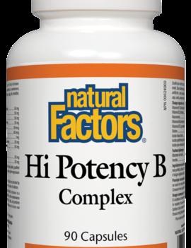 Natural Factors Natural Factors - Hi Potency B Complex 50mg - 90 Caps