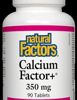 Natural Factors Natural Factors - Calcium Factor+ 350 mg - 90 Tabs