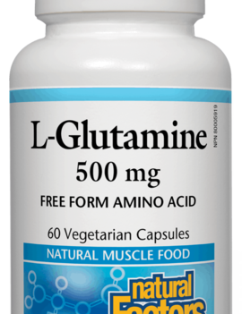 Natural Factors Natural Factors - L-Glutamine 500mg - 60 V-Caps