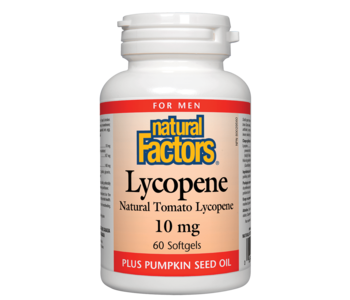 Natural Factors - Lycopene 10mg - 60 SG