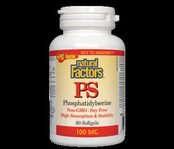 Natural Factors - PS-100 - 60 SG