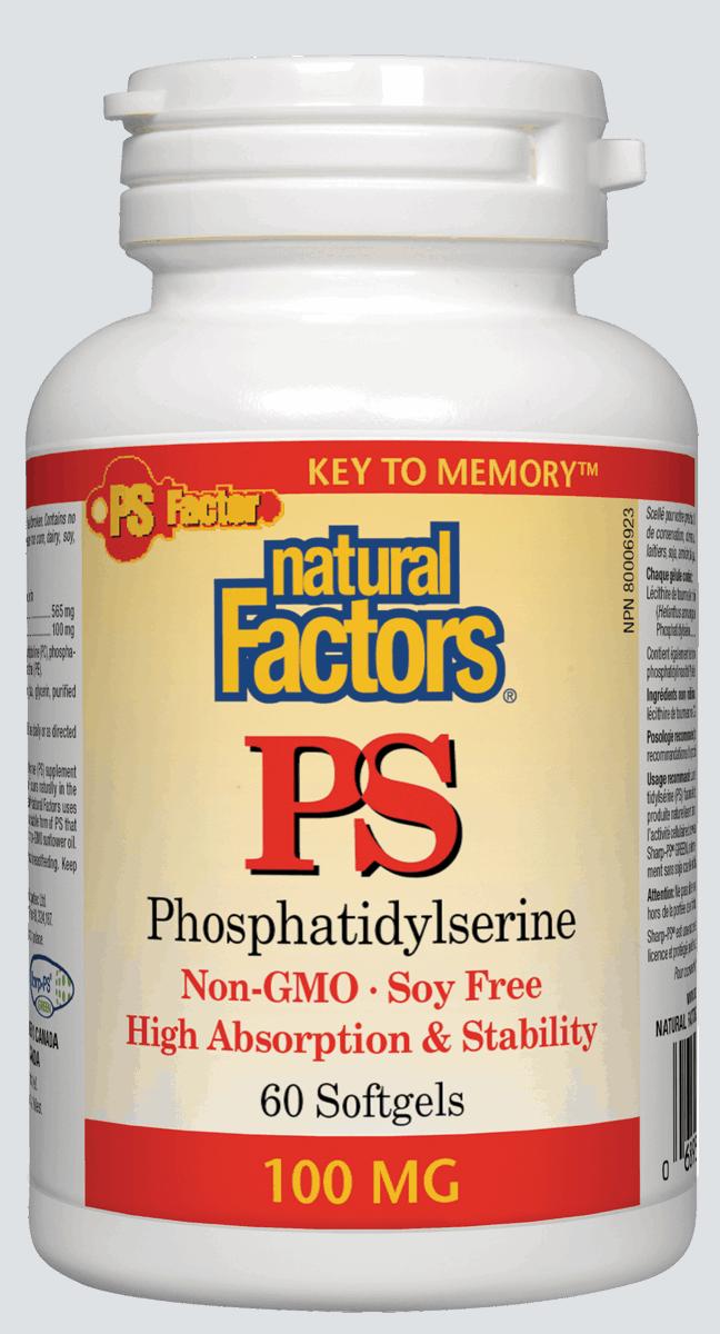 Natural Factors Natural Factors - PS-100 - 60 SG