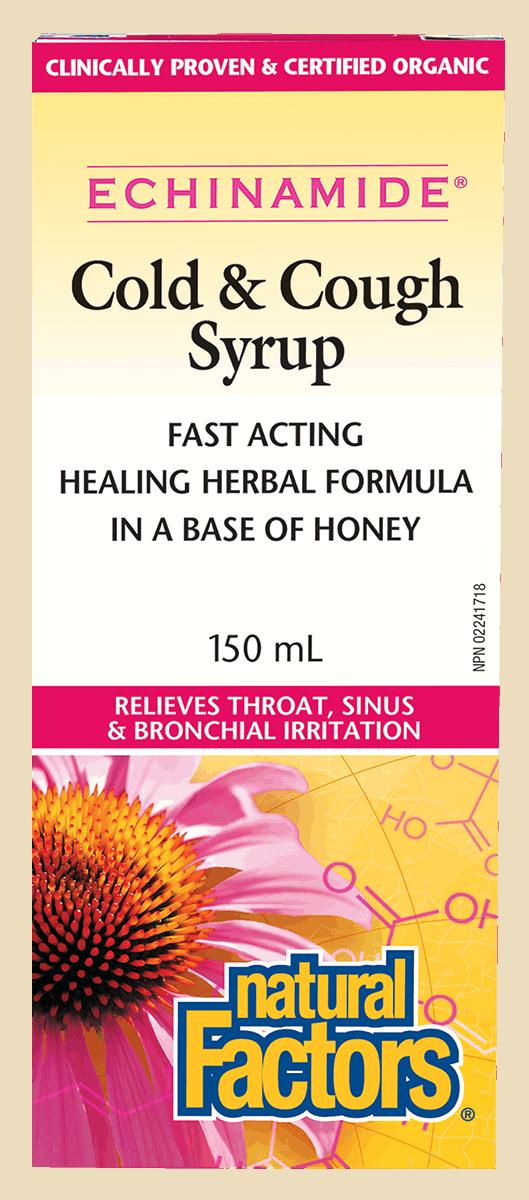 Natural Factors Natural Factors - Echinamide - Cold & Cough Syrup - 150ml