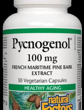 Natural Factors Natural Factors - Pycnogenol 100mg - 30 V-Caps