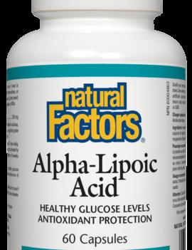 Natural Factors Natural Factors - Alpha-Lipoic Acid 200 mg - 60 Caps