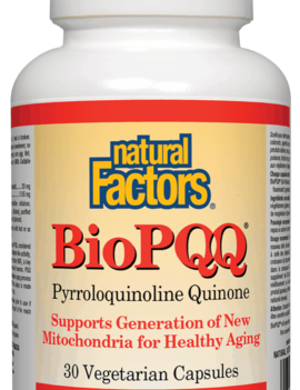 Natural Factors Natural Factors - Bio PQQ 20 mg - 30 V-Caps