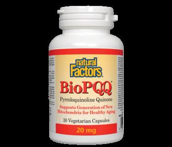 Natural Factors - Bio PQQ 20 mg - 30 V-Caps