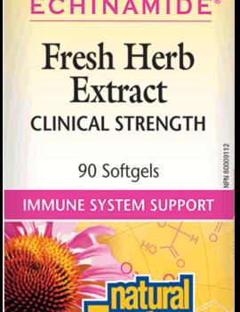 Natural Factors Natural Factors - Echinamide - Fresh Herb Extract - 90 SG