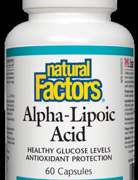 Natural Factors Natural Factors - Alpha-Lipoic Acid 400 mg - 60 Caps