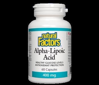 Natural Factors - Alpha-Lipoic Acid 400 mg - 60 Caps