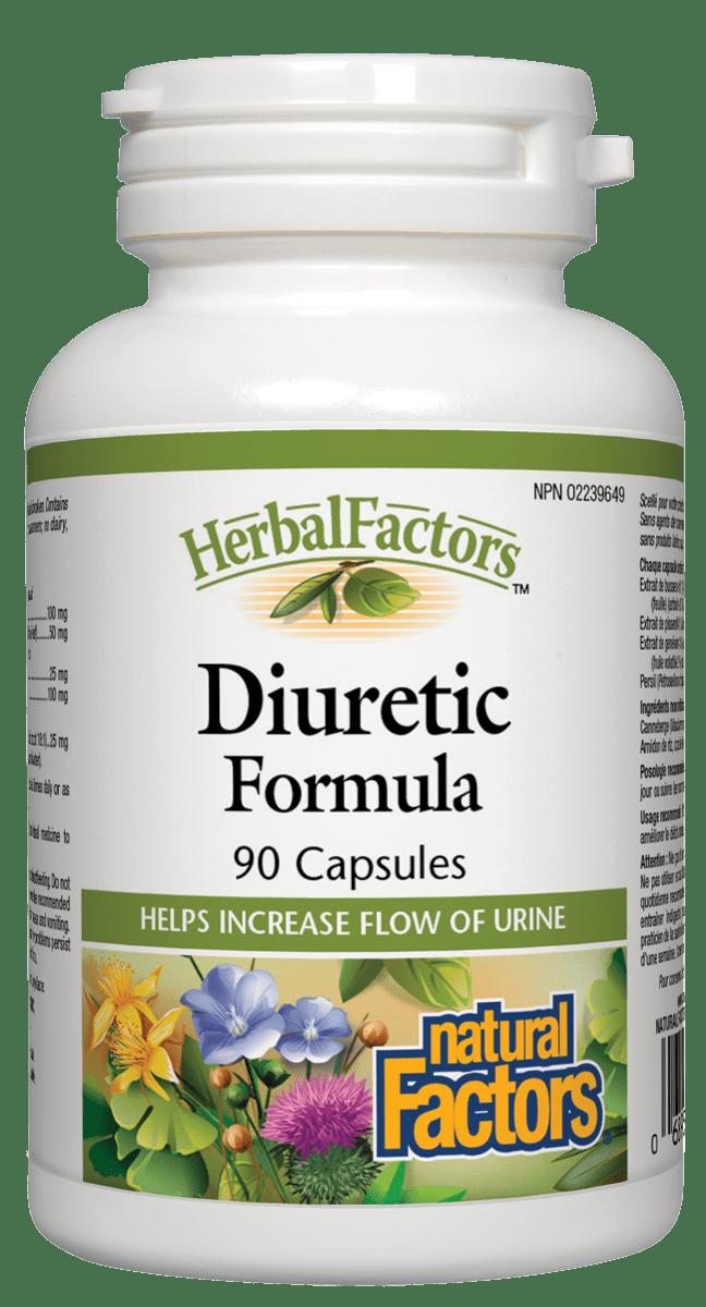 Natural Factors Natural Factors - Diuretic Formula - 90 Caps
