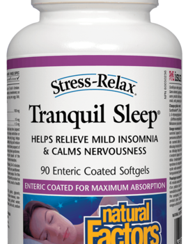 Natural Factors Natural Factors - Tranquil Sleep - 90 SG