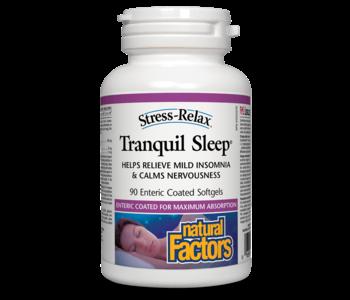 Natural Factors - Tranquil Sleep - 90 SG